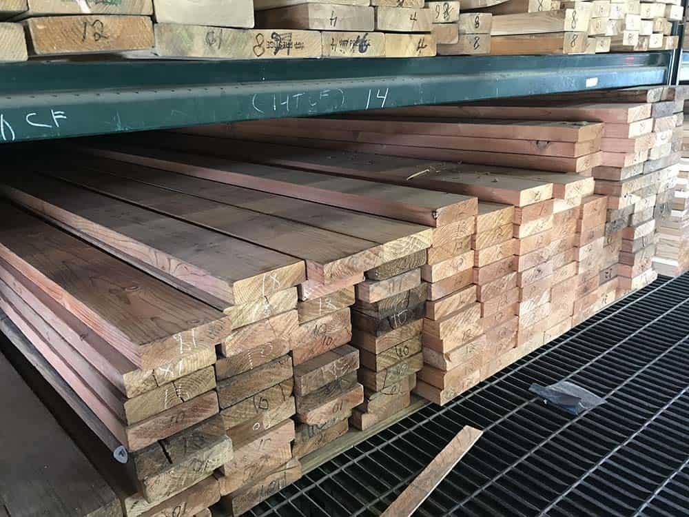 redwood lumber