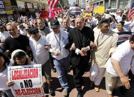 CatholicMahonyProtestAZImmigrationLaw