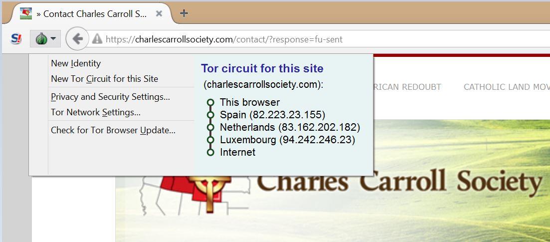 Getting around Tor blocking with