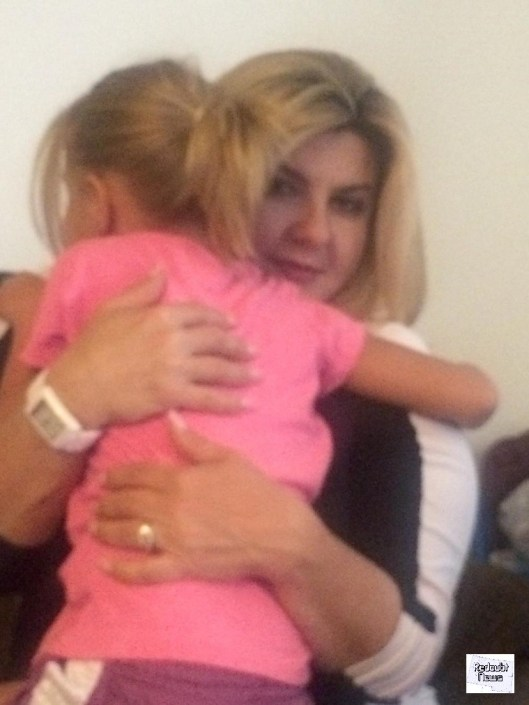 Image by Redoubt News - Patriot Assemblywoman Michele Fiore with the victim