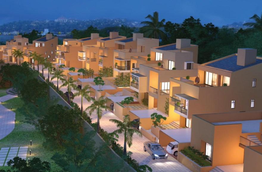 Row villas
