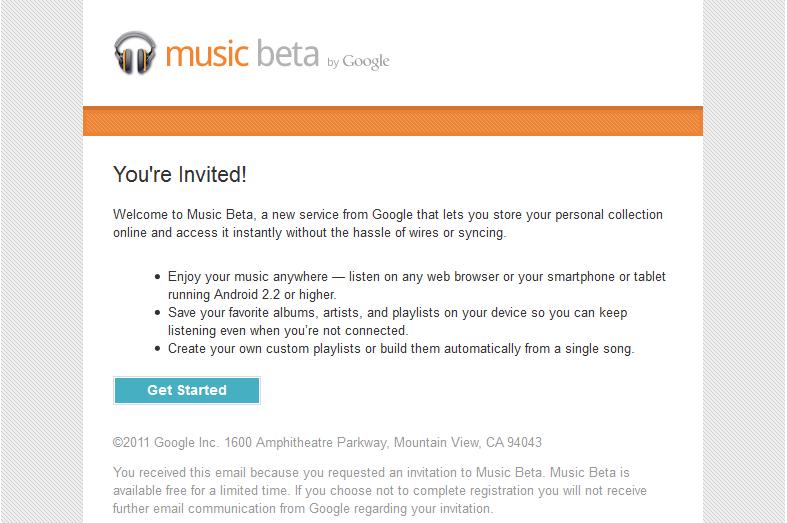 Music Beta écran 1