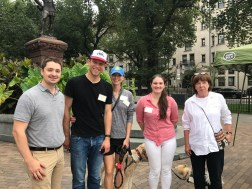 City Councilor Josh Zakim and members of Charlesgate Alliance