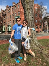 Volunteers at the 2018 Muddy River Cleanup