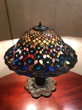 Tiffany lamp in the Ayer Mansion