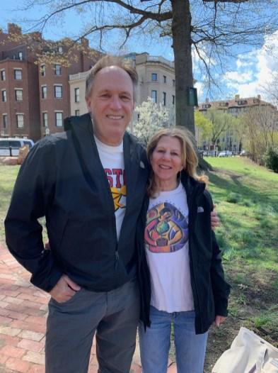 Geoff MacDonald and Joanne Meirovitz
