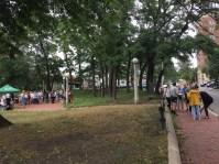 Charlesgate Park Walkaround event