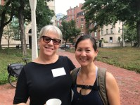Pam Beale and Laurie Lau Layton