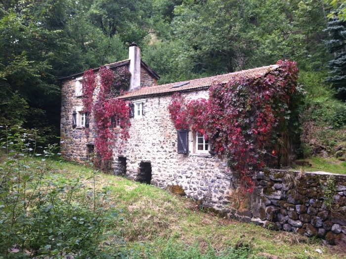 Mill on the edge of Saint Privat- D'Allier on the Way of St james in France. GR65. Route saint Jacques. Photograph by Charles Hawes