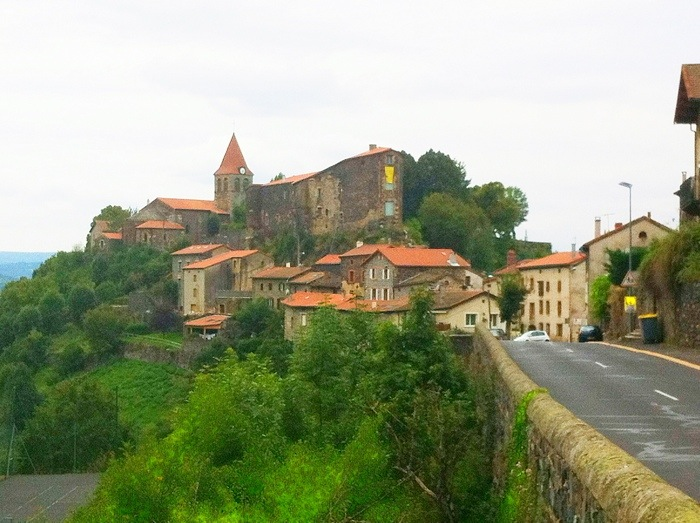 St Privat - D'Allier on The way of St James, France. GR65. Route Saint Jacques. Photograph by Charles Hawes