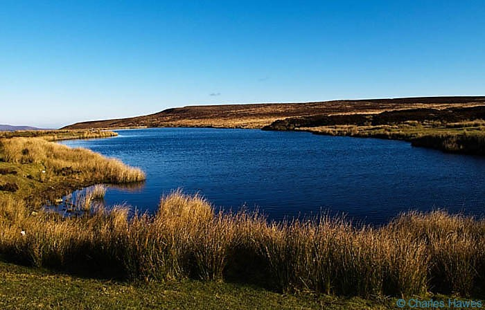 Keepers Pond, near Blaenavon, Wales, photographed by Charles Hawes. Walking in Wales.