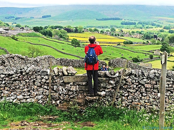 The Dales Way near Grassington, North Yorkshire, photographed by Charles Hawes