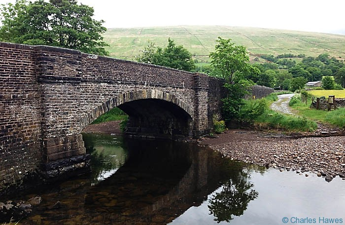 Bridge at Bridge End over Deepdale Beck near Dent on The Dales Way, photographed by Charles Hawes