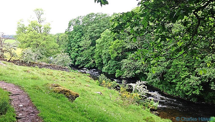 The River Kent on The Dales Way, Cumbria, photographed by Charles Hawes