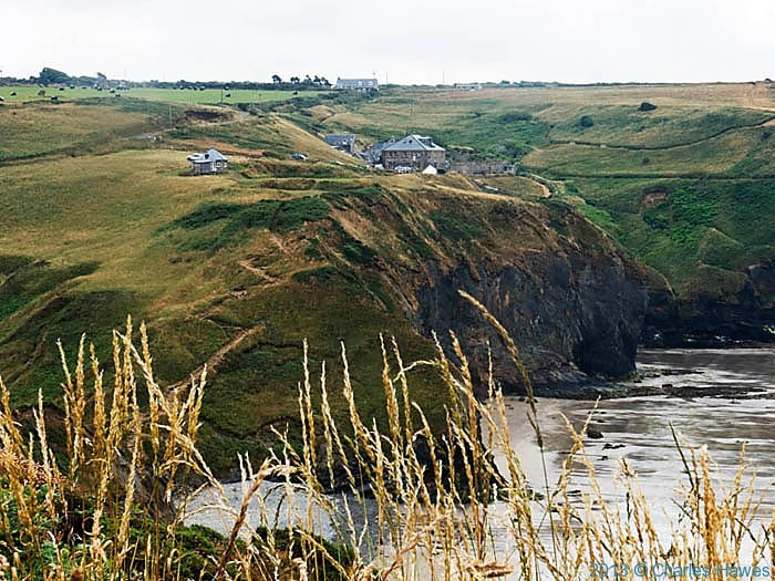 View of The Druidstone Hotel from The wales Coast path in Pembrokeshire, photographed by Charles Hawes