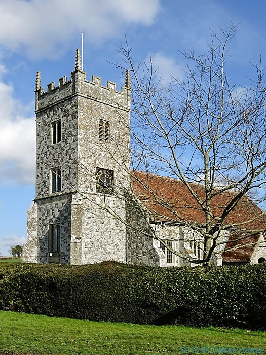 St Lawrence Church, Stratford Sub castle, photographed by Charles Hawes