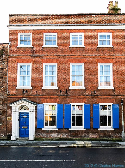 St Ann Street, Salisbury, Wiltshire, photographed by Charles Hawes