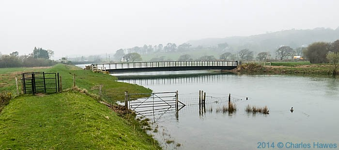 Bridge across the River Artro near Llanbedr, photographed from The Wales Coast Path Charles Hawes