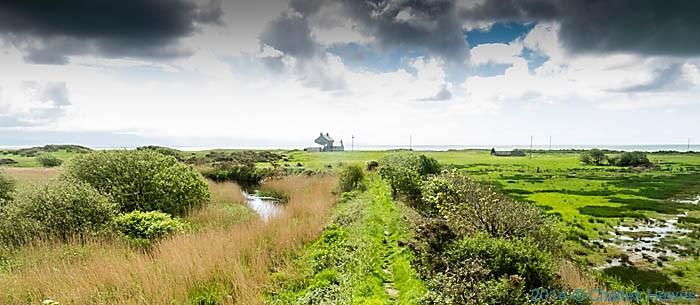 Footpath to Ty' n-y-Morfa, Lleyn peninsula, photogpahed by  Charles Hawes