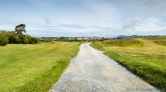 Wales Coast Path outside Abersoch, photographed by Charles Hawes