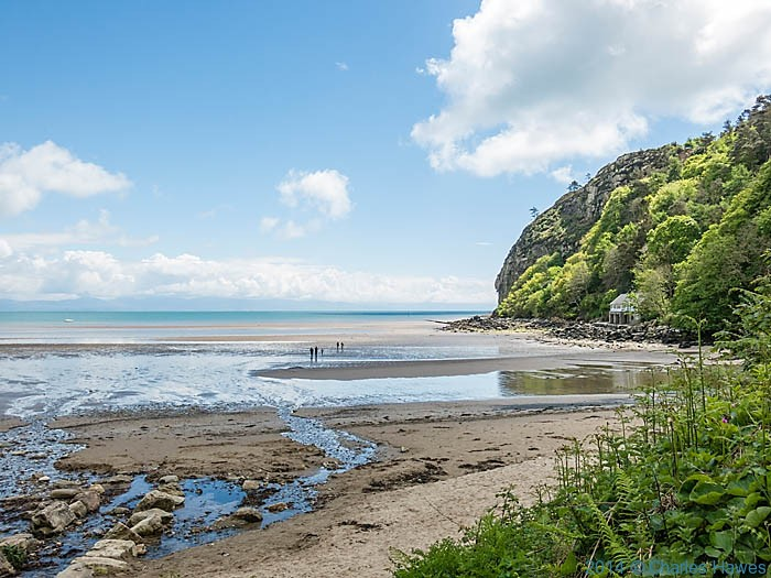 View from the Cafe at Llanbedrog, photographed from The wales Coast Path by Charles Hawes