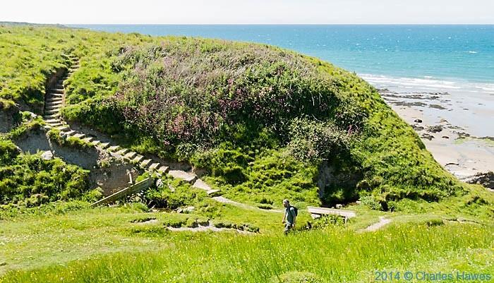The Wales Coast Path near Morfa Nefyn, photographed by Charles Hawes