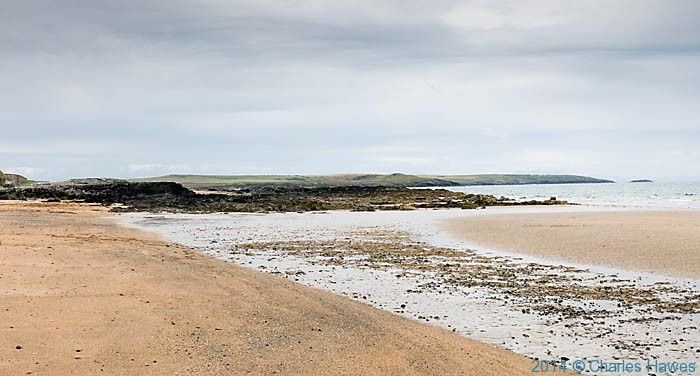 Traeth Llydan, Rhosneigr, photographed from The Wales Coast Path by Charles Hawes