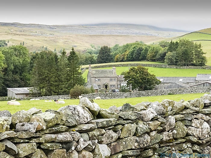 Scar End farm, near Ingleton, photographed by Charles Hawes