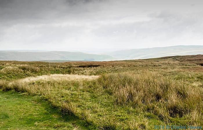 Fountains Fell, Yorkshire, photographed from The Pennine Way by Charles Hawes