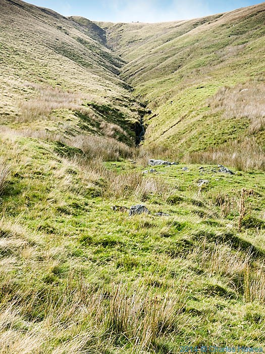 Rams Gill in Bowderdale, Howgill Fells, Cumbria, photographed by Charles Hawes