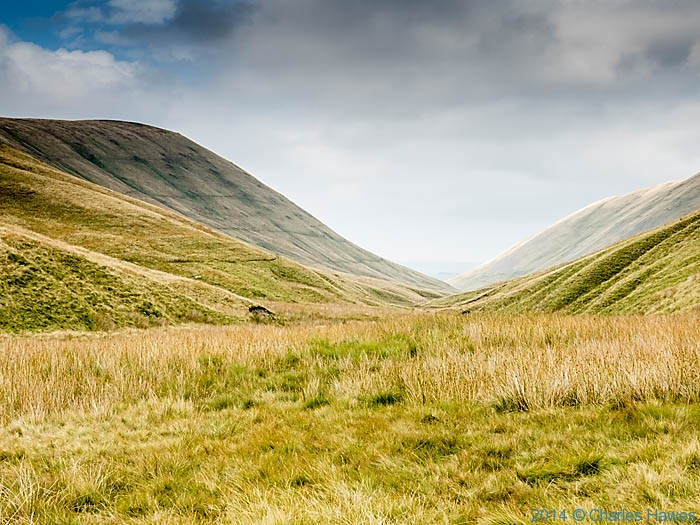 Bowderdale, looking south, Howgill Fells, Cumbria, photographed by Charles Hawes