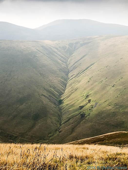 Hazel Gill, Bowderdale, Howgill Fells, Cumbria, photographed by Charles Hawes
