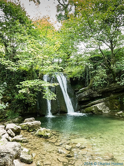 janet's Foss, near Malham, photographed by Charles Hawes