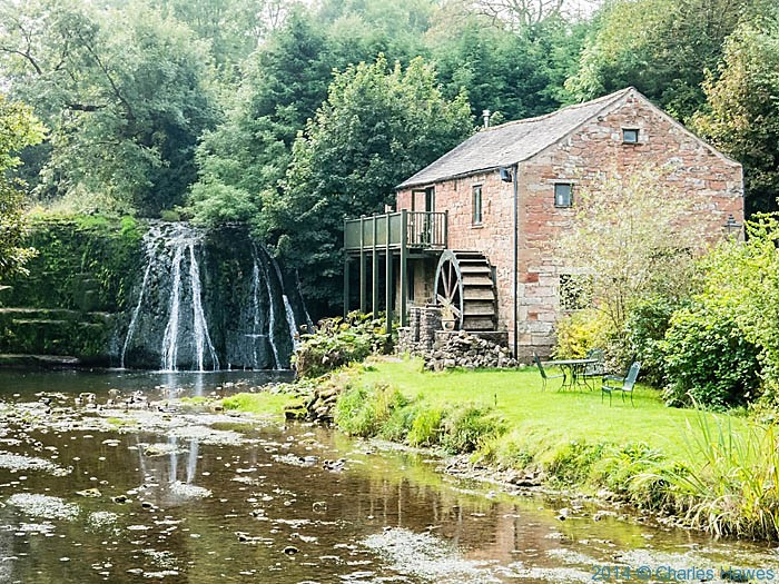 Rutter Mill near Great Asby, photographed from The Dales High Way by Charles Hawes