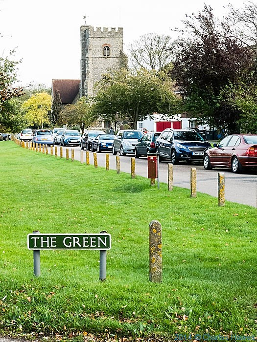 The Green at Chartham, Kent, photographed by Charles Hawes