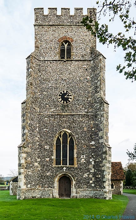 St Mary's Church, Chartham, Kent, photographed by Charles Hawes