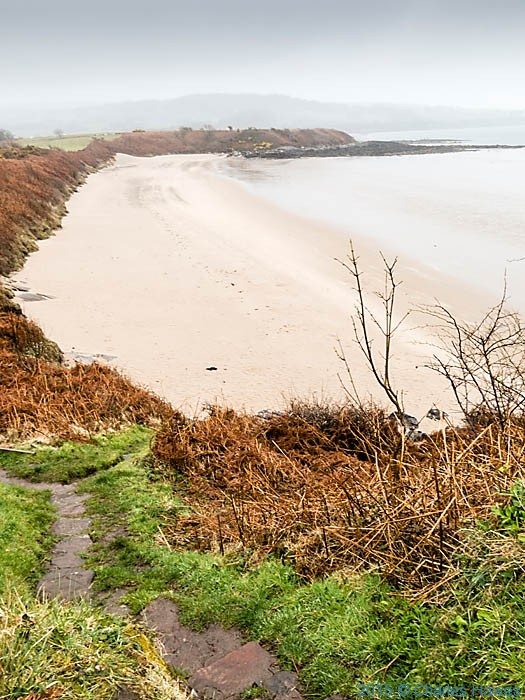 Traeth yr Ora, anglesey, photographed from The Wales Coast Path by Charles Hawes