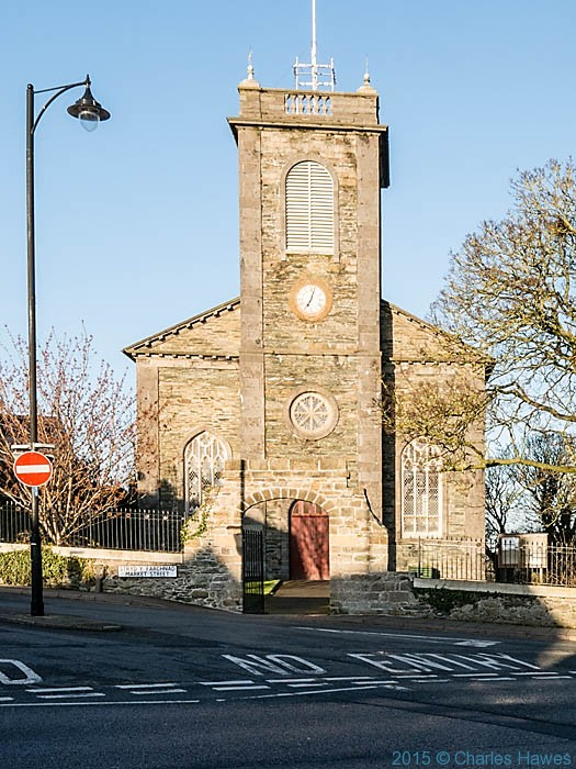 St Eleths Church, Amlwch, Anglesey, photographed by Charles Hawes