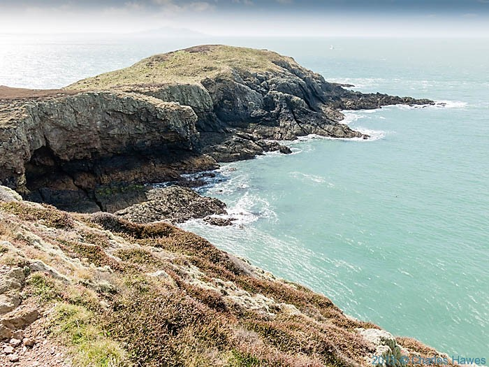 Yns y Fydlyn, Anglesey photographed from The Wales Coast Path by Charles Hawes