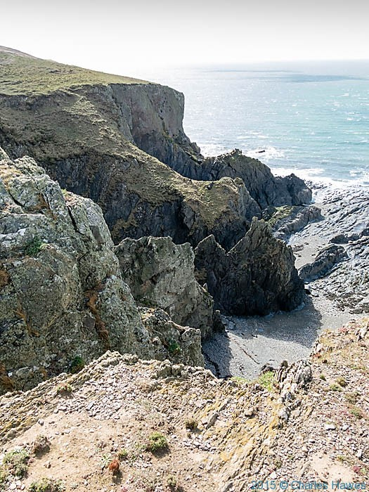 Wales Coast Path, near Church Bay, Anglesey, photographed by Charles Hawes