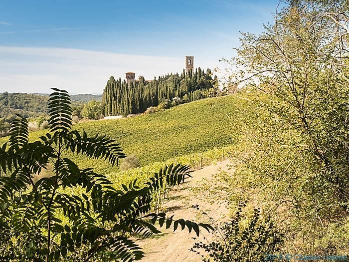 Badia a Passignano, Tuscany, Photographed by Charles Hawews