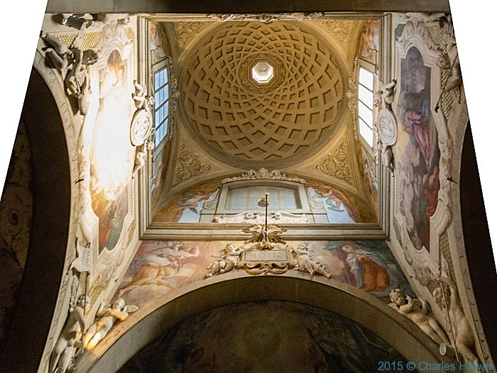 Saint Michael Archangel ,Badia a Passignano, Tuscany, photographed by Charles Hawes