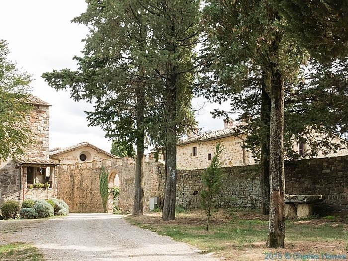 Poggio al Vento near Badia a Passignano, Tuscany, photographed by Charles Hawes