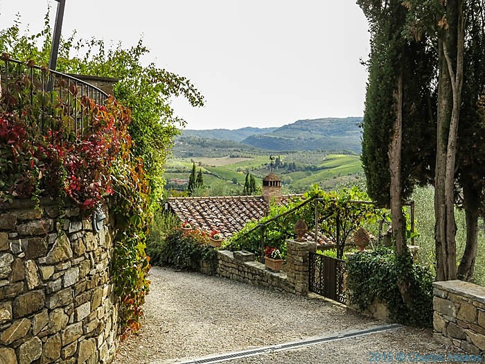Terre di baccio, Greve in Cianti, Tuscany, photographed by Charles Hawes