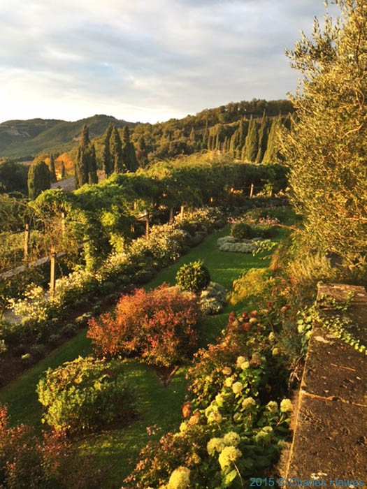 La Foce garden, Chianciano Terme, Tuscany, photographed by Charles Hawes