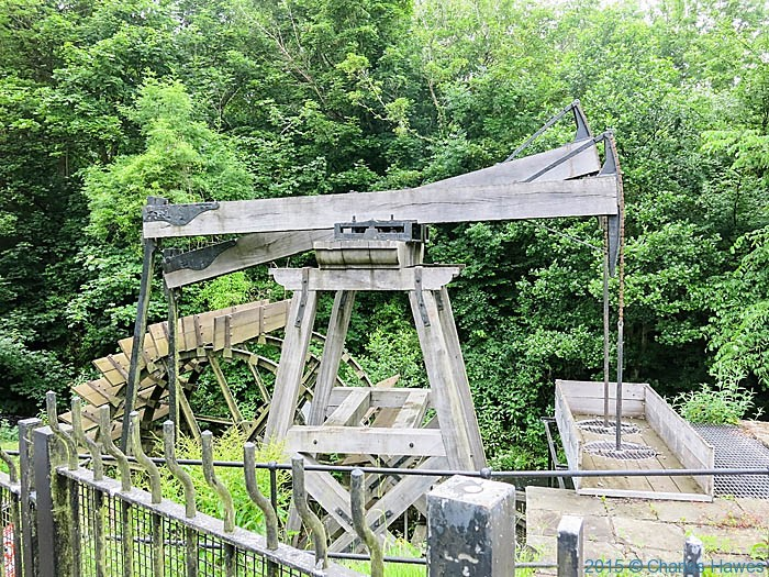 Melingriffith Water Pump, Whitchuch, Cardiff, photographed from The Cambrian Way by Charles Hawes