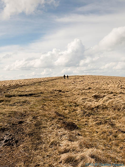 Cambrian way near Chwarel y Fan, photographed by Charles Hawes