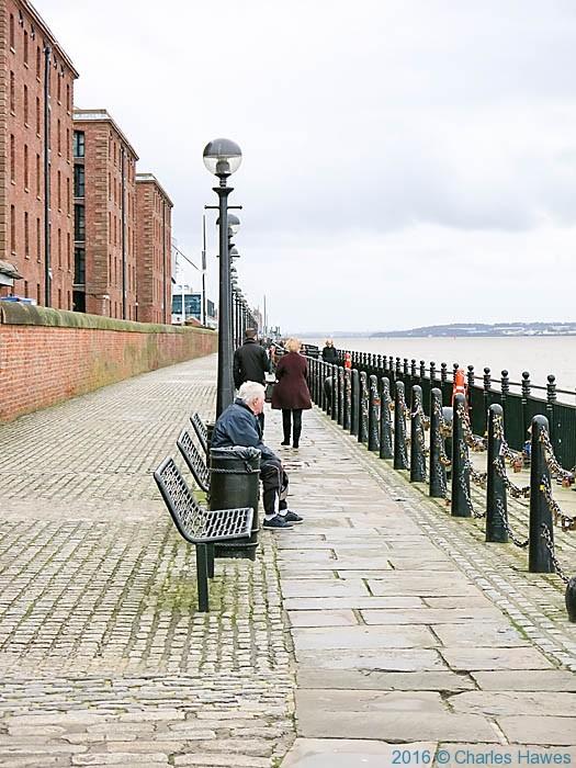 Albert Dock Buildings, Liverpool, photographed by Charles Hawes