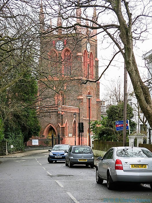 St Michael's church, Liverpool, photographed by Charles Hawes