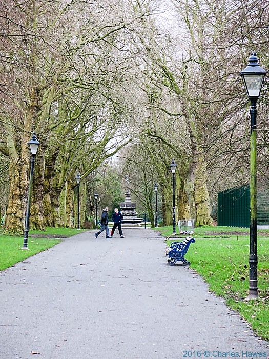 Sefton Park, Liverpool., photographed by Charles Hawes